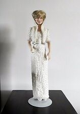 Franklin Mint LADY DI PORCELAIN DOLL Diana Princess of Wales 17""