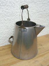 Large Vintage WEBSTER'S Stainless Steel Ware Milk / Cream Farm Urn Bucket Pourer