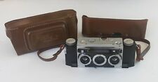 Vintage David White Stereo Realist Outfit 35mm Camera and Leather Case
