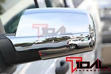 Tidal Triple Chrome ABS Mirror Cover for 14-16 Chevy Silverado & GMC Sierra