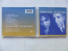CD Album LEONARD COHEN Ten new songs 501202 2