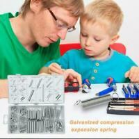 200pcs Spring Assortment Set Steel Compression & Extension Carburetor X9A4