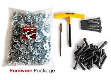 Escape Climbing Hardware Starter Pack Includes T-Nuts, Bolts, Drill Bit, Wrench