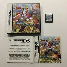 Megaman ZX Advent Nintendo DS CIB Complete Authentic Tested