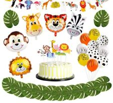 Animal Balloons Jungle Party Safari Party Jungle Theme Birthday Party Birthday