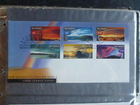 NEW ZEALAND 1998 SCENIC ISSUE SET 6 STAMPS FDC FIRST DAY COVER