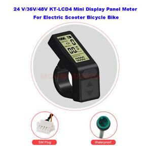 24V /36V /48V KT-LCD4 Mini Display Panel Meter For Electric Scooter Bicycle Bike