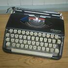 Olympia Splendid 99 Portable Typewriter Working Black Ribbon Carry Case