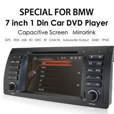 DAB+Stereo Sat Nav for BMW 5 Series E39 X5 E53 DVD GPS Bluetooth 3G DTV DVR SWC