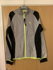 mens reflective cycling jacket Size Large