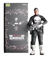 "Punisher Frank Castle 1/6 Scale Crazy Toys 12"" Figure DC Comics Empire Marvel 30"