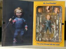 """NECA Child's Play Ultimate Chucky 4"""" Action Figure Doll Horror Sequel Interchang"""