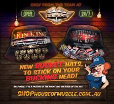 LION KING HOLDEN DEALER TEAM ALL NINE BATHURST WINS Adult Bucket hat