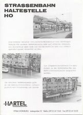 catalogo HARTEL 1990s STRASSENBAHN HALTESTELLE HO      D             aa