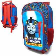Thomas The Tank Engine & Friends Blue Travel School Children's Deluxe Trolley
