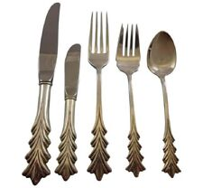 Crest of Arden by Tuttle Sterling Silver Flatware Set For 12 Service 66 Pieces