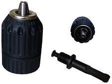 Schnellspannbohrfutter mit SDS Plus Adapter 2-13mm Schnellspann-Bohrfutter