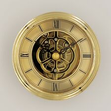 Einsteckuhrwerk Einbau-Uhr Einsteckwerk Einbauuhr Modellbau-Uhr Ø 80 mm Nr.21