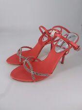Karen Millen Coral Diamanté Sandals Size UK 5 EUR 38 NH03 57