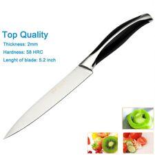 """5"""" Inch Filleting Knife Steel Ham Slicing Fruit Design Utility Paring Cook Fish"""
