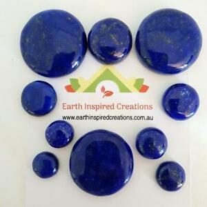Lapis Lazuli Circle Cabochons