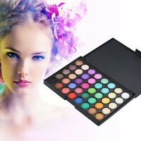40 Colors Cosmetic Matte Eyeshadow Palette Set Women Eye Shadow Makeup Party EP