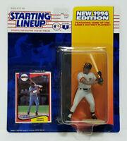 BARRY BONDS - San Francisco Giants Kenner Starting Lineup SLU 1994 Figure & Card