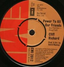 """CLIFF RICHARD power to all our friends  come back billie jo 7"""" WS EX/ EMI2012"""