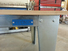 workshop bench. Work table, Metal workbench, Industrial bench