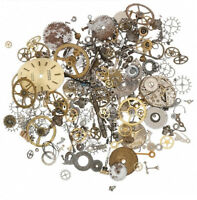 20 Grams Lot Steampunk Vintage Watch Parts Gears Altered Art Jewelry