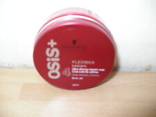 SCHWARZKOPF OSIS FLEX WAX ULTRA STRONG TEXTURE STYLING PRODUCT 50ml FIRM HOLD