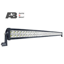 """A&B 34"""" 180W LED OFFROAD DRIVING LIGHT BAR SPOT SPREAD COMBO BEAM 11250LM"""