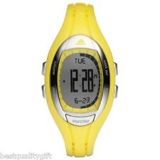 NEW ADIDAS YELLOW DIGITAL LAHAR RUBBER WATCH ADP3073