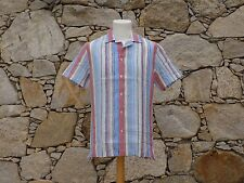 ORLEBAR BROWN. Short sleeve shirt. 100% Linen. BNWOT.  Medium