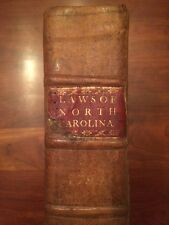 Very RARE 1791 Laws of North Carolina, early Edenton NC imprint, James Iredell