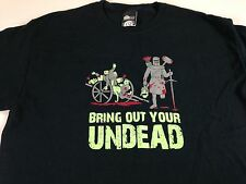 Bring Your Undead T-Shirt Mens SZ M/L Monty Python Zombies Funny Think Geek Tee