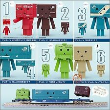 Yotsuba&! Container Danbo Gachapon Tomix All Six Complete Set Aschi Media Works