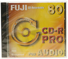 1 x Fuji Pro CD-R AUDIO DIGITALE Vuoto Registrabile Disc 80Min 700mb IN JEWEL CASE