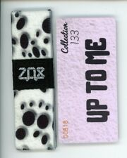 Medium ZOX Silver Strap UP TO ME Wristband with Card Reversible