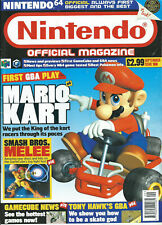 UK Nintendo Official Magazine 2001 Issue 108 Mario Kart+ZELDA ORACLE OF AGES GBC