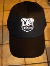 Cap/basecap/truckercap en negro con - 1953 playboy-stickung/Nuevo