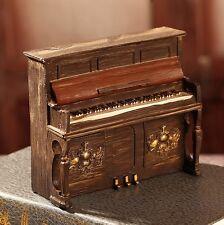 Retro Vintage Piano Home Table Decor Ornament Figures Gift Resin