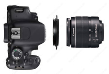 Lentille Adaptateur Macro Inverse Bague 49 mm pour Canon EOS 60D/70D/1D appareil photo