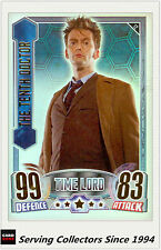 2012 Topps Doctor Who Alien Attax Collect Card Rainbow Foil#12 The10th Doctor-Ra