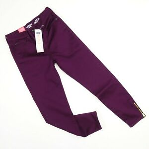 New Denizen From Levis High Rise Ankle Zip Plumb Jegging Jeans Sz 1-11 Juniors