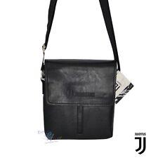 JUVENTUS FC TRACOLLA uomo ufficiale nero borsello certificato borsa a spalla aaca44dec36