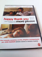 "DVD ""HAPPY THANK YOU MORE PLEASE"" COMO NUEVO JOSH RANDOR TONY HALE ZOE KAZAN"