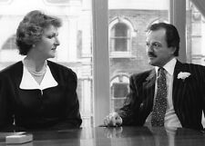 Penelope Keith & Peter Bowles 10 x 8 UNSIGNED photo - P1193 - Executive Stress