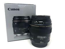 Canon EF 100mm f/2 USM - 2 Year Warranty