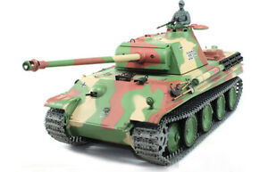 """Char Panzer V """"Panther"""" Ausf G échelle 1/16 RC NEUF"""
